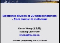 Electronic Devices of Two-Dimensional Semiconductors - From Atomic to Molecular