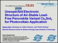 Unexpected Electronic Structure of Air-Stable Lead-Free Perovskite Variant Cs2SnI6 for Photovoltaic Application