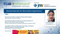Nanomaterials for Biomedical Applications