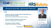 Joining of Dissimilar Lightweight Materials