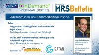Advances in In-situ Nanomechanical Testing