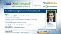 The Machine Learning Revolution in Materials Research
