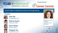 Career Paths in Materials Science and Engineering