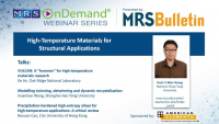 High-Temperature Materials for Structural Applications