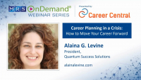 Career Planning in a Crisis: How to Move Your Career Forward
