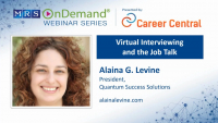 Virtual Interviewing and the Job Talk