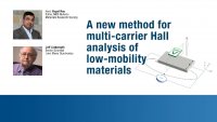 A New Method for Multi-Carrier Hall Analysis of Low-Mobility Materials