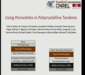 Combining Perovskites with Conventional Solar Cell Materials to Make Highly Efficient and Inexpensive Tandems