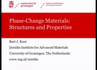 Tutorial Y: Overview of Phase-Change Materials, Their Physics and Applications