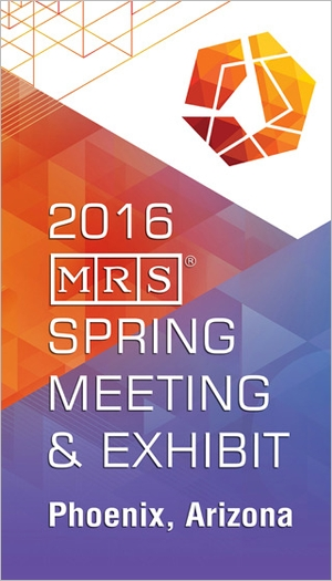 2016 MRS Spring Meeting