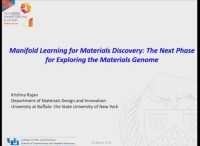 Manifold Learning for Materials Discovery: The Next Phase for Exploring the Materials Genome