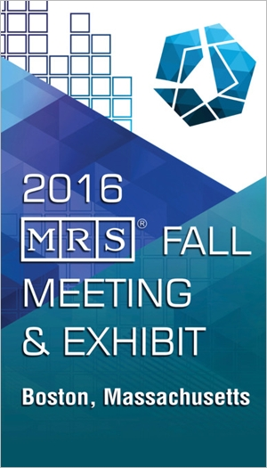 2016 MRS Fall Meeting