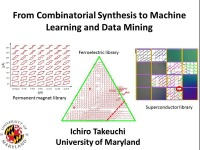 21st Century Tools for Accelerating Scientific Research - From Combinatorial Synthesis and Text Mining to Artificial Intelligence - Part 1
