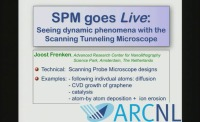 """""""SPM Goes Live - Seeing Dynamic Phenomena with the Scanning Tunneling Microscope"""" - the 2017 MRS Innovation in Materials Characterization Award Talk"""
