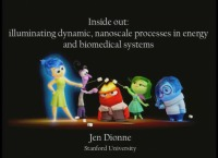 """""""Inside Out - Visualizing Chemical Transformations and Light-Matter Interactions with Nanometer-Scale Resolution"""" - The 2017 MRS Outstanding Young Investigator Award Talk"""