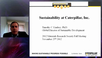 Interdisciplinary Sustainability in the Industrial Setting