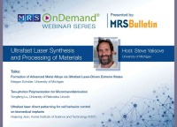 Ultrafast Laser Synthesis and Processing of Materials