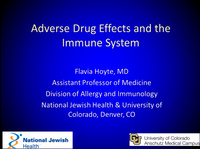 AACT Pre-Meeting Symposium: Adverse Drug Events - From Public Health to Molecular Mechanisms