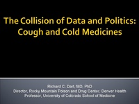 Plenary Session 2: Drug Toxicity: Mechanisms & Clinical Effects<br /><br />Cough & Cold Medications & Childhood Deaths