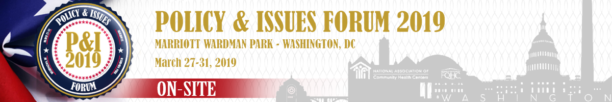Policy & Issues Forum 2019 - Onsite