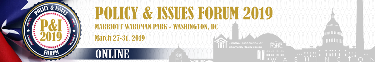 Policy & Issues Forum 2019 - Online