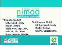 NIMAA - Creating an Advanced Medical Assistant Workforce to Promote the Transformation of Health Care Through On-Site Education and Employee Upskilling