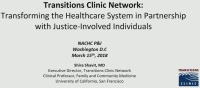 Health Care for the Justice Involved and Formerly Incarcerated