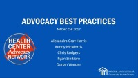 Learning From the Pros: Advocacy Best Practices