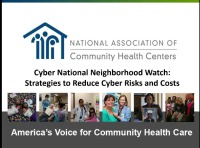 Cyber National Neighborhood Watch: Strategies to Reduce Cyber Risks and Costs