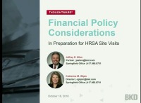 Financial Management Reviews: Policy Considerations
