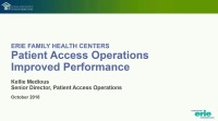 The Journey to Improved Patient Access