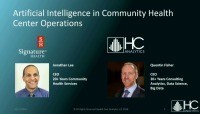 Artificial Intelligence in Community Health Center Operations