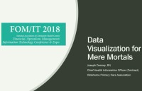 Start Where You Are: Data Visualizations for Mere Mortals