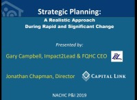 Strategic Planning: A Realistic Approach During Rapid and Significant Change - RECOMMENDED FOR YOUNG PROFESSIONALS and NCA FEATURED