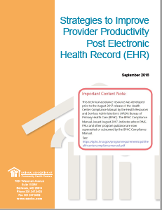 Strategies to Improve Provider Productivity Post EHR
