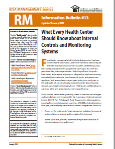 What Every Health Center Should Know about Internal Controls and Monitoring Systems