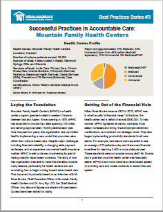 Successful Practices in Accountable Care: Mountain Family Health Centers