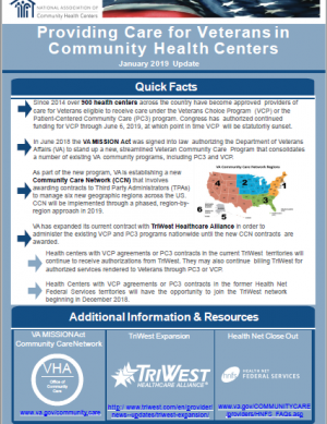 Providing Care for Veterans in Community Health Centers