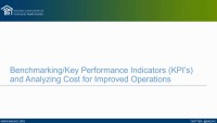 Benchmarking and Analyzing Costs for Improving Operations