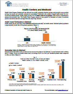 Health Centers and Medicaid Fact Sheet