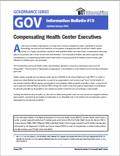 Executive Compensation: GOV Information Bulletin