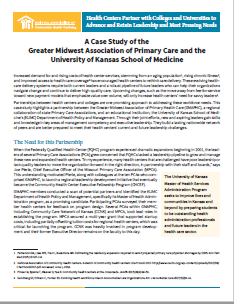 A Case Study of the Greater Midwest Association of Primary Care and the University of Kansas School of Medicine