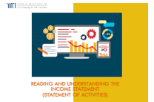 Reading and Understanding the Income Statement [Statement of Activities](eLearning)