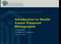 Introduction to Health Center Financial Management icon