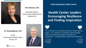 Health Center Leaders Encouraging Resilience and Finding Inspiration
