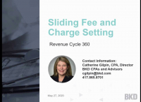 Sliding Fee and Charge Setting