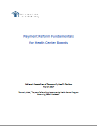 Payment Reform Fundamentals for Health Center Boards