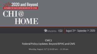 Federal Policy Updates -- Beyond BPHC and CMS