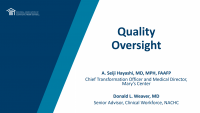 NACHC Board Member Boot Camp: The Board and Quality Oversight - **SEPARATE REGISTRATION IS REQUIRED**