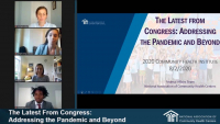 The Latest From Congress: Addressing the Pandemic and Beyond